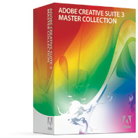 Adobe Creative Suite 3 Master Collection Box Shot